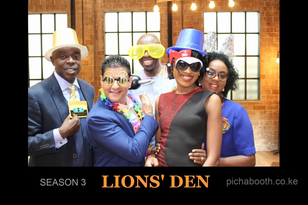 Picha Booth on KCB Lions' Den