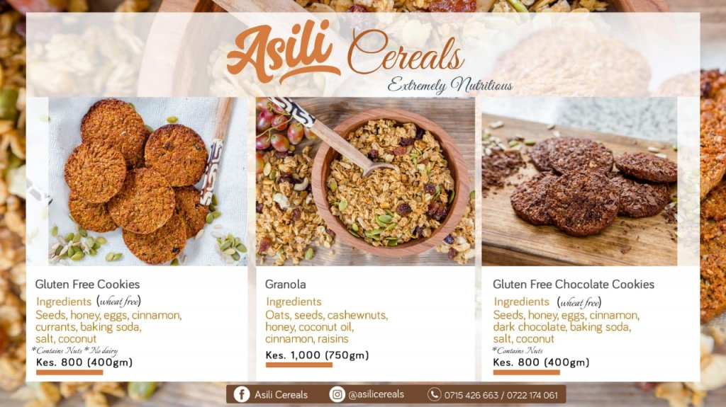 Asili Cereals - Gluten Free and Extremely Nutritious